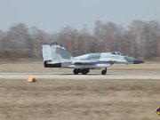 Russian Air Forces  MiG-29SMT upgraded multifunctional fighter