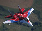 MiG-29М OVT experimental super maneuverable aircraft