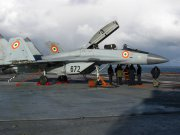 Indian Naval Forces MiG-29КUB carrier-based multirole fighter