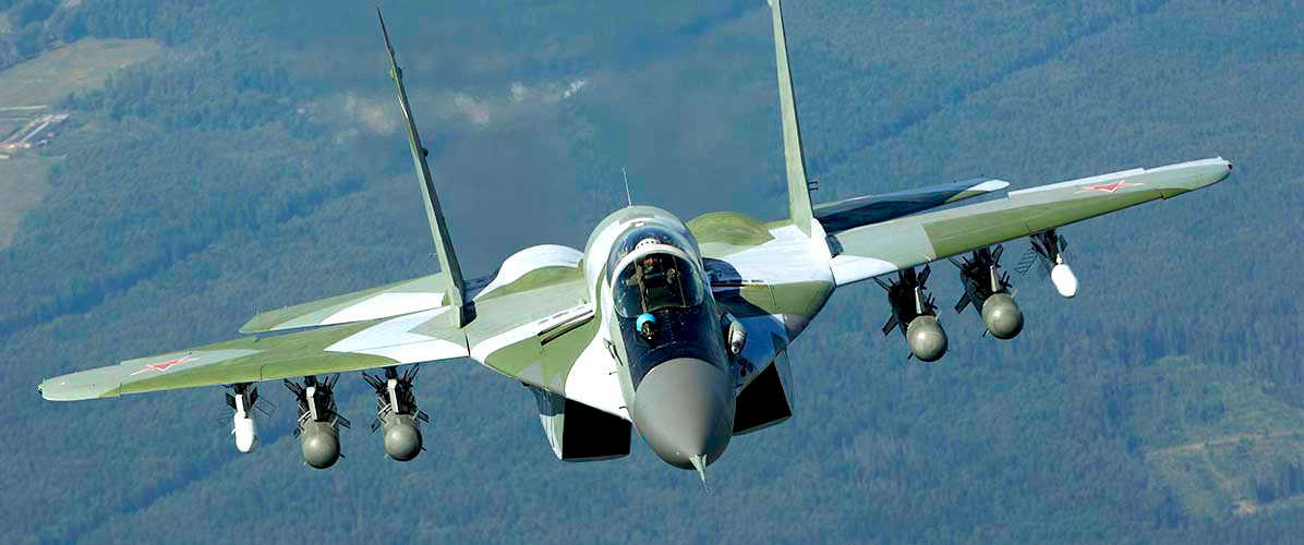 MiG-29SMT upgraded multifunctional fighter MiG-29SMT